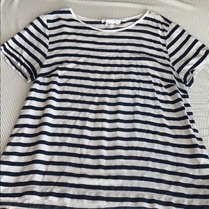 H&M striped women's tee shirt